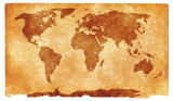 world grunge map sepia nicolas raymond