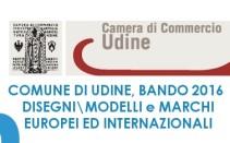 Bando 2016 del Comune di Udine: finanziamenti per marchi, disegni\modelli Europei, Internazionali ed Italiani