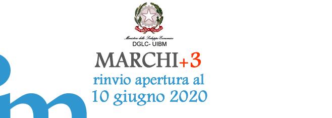 Slitta ulteriormente al 10/06/2020 la data per la presentazione delle domande per il Bando Marchi+3