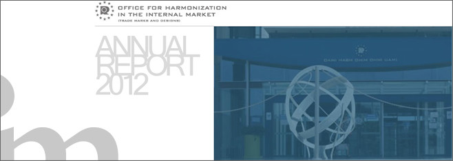 Pubblicato il rapporto 2012 dell'UAMI