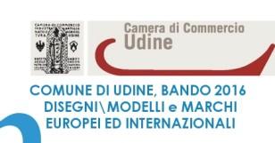 Bando 2016 del Comune di Udine: marchi, brevetti e design