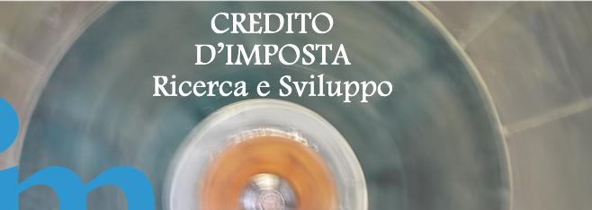 CREDITO D'IMPOSTA PER INVESTIMENTI IN RICERCA E SVILUPPO
