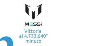 Lionel Messi: la sua prima vittoria al 4.733.640° minuto!