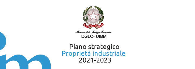 Piano strategico sulla Proprietà industriale per il triennio 2021-2023